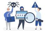Obrázok: Cyber Crime Vectors by Vecteezy.