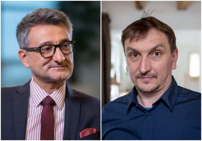 Vladimír Šucha a Juraj Hipš. Foto - Archív VŠ, N Tomáš Benedikovič