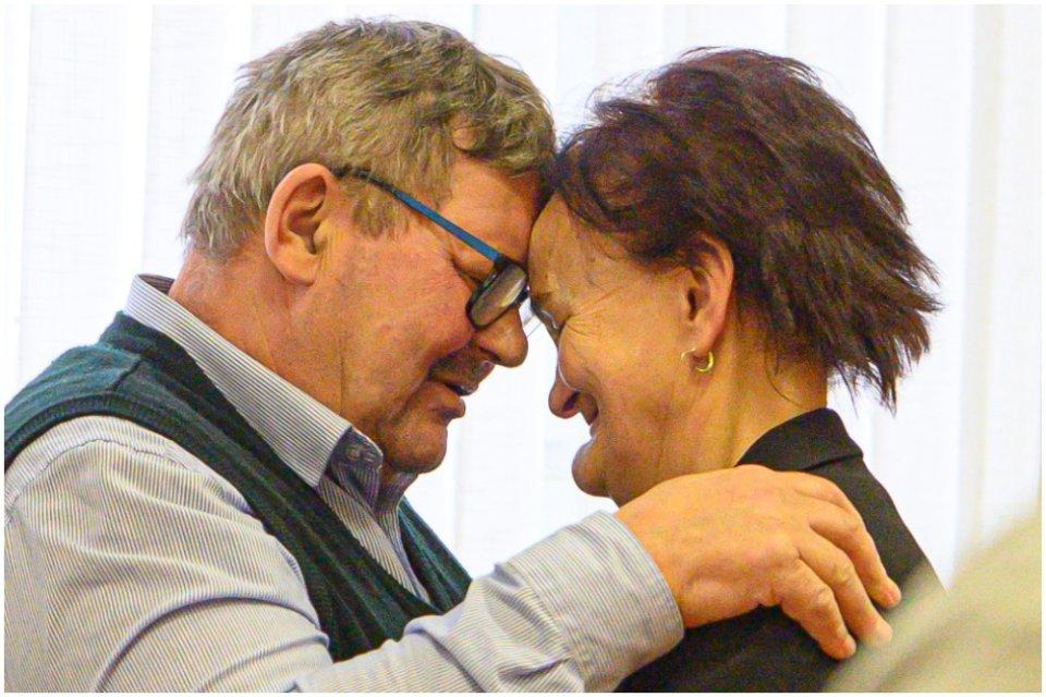 Rodičia Jána Kuciaka Jozef a Jana. Foto - TASR/Michal Svítok