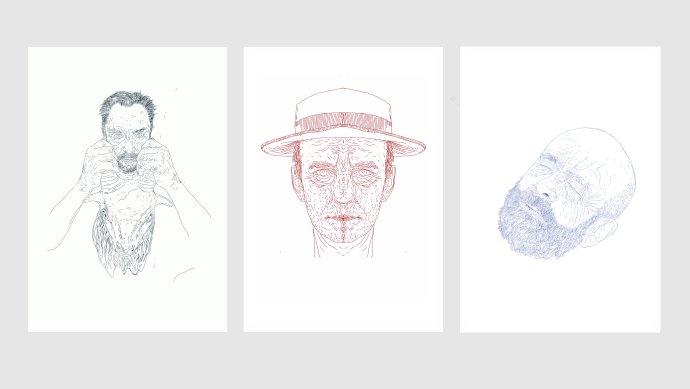 Terenove grafiky: Séria troch hláv