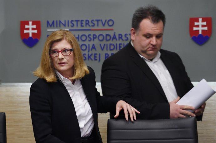 V súdnom rozhodnutí ku kauze Dobytkár sa hovorí aj o úlohe bývalej ministerky pôdohospodárstva Gabriely Matečnej a vtedajšieho šéfa PPA Juraja Kožucha. Foto - TASR