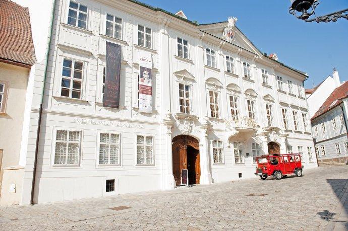 Jedna z dvoch budov Galérie mesta Bratislavy - Mirbachov palác. Foto - GMB