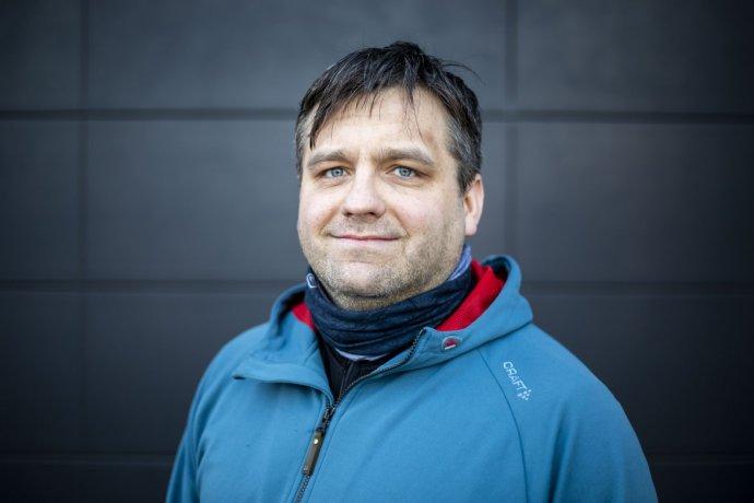 Nemocničný kaplán Jakub Formánek. Foto – Deník N/Gabriel Kuchta
