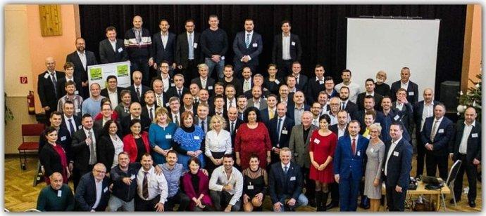 Stretnutie kandidátov OĽaNO v Haliči. Foto - Facebook Joža Pročka