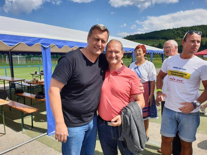 Ján Krišanda a Andrej Danko. Foto - FB JK