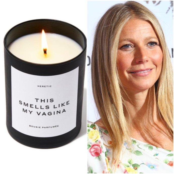 Sviečka vraj vonia ako vagína herečky Gwyneth Paltrowovej, predáva ju jej značka Goop a stojí 75 dolárov. Foto – Goop a TASR/AP