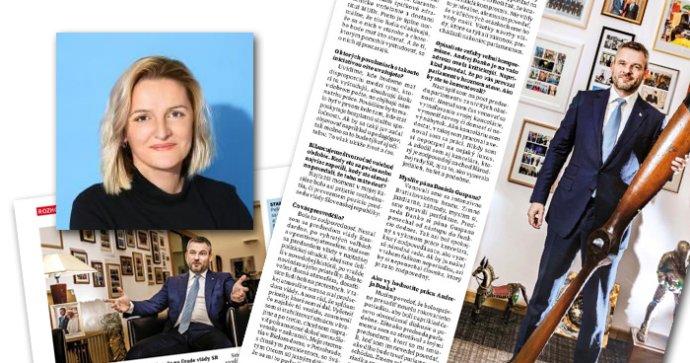 Katarína Šelestiaková, šéfredaktorka. Zdroj: Plus 7 dní