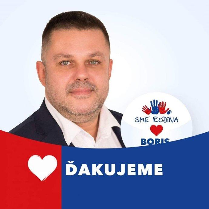 Ľuboš Kabát zo Sme rodina. Foto - Facebook Ľuboša Kabáta