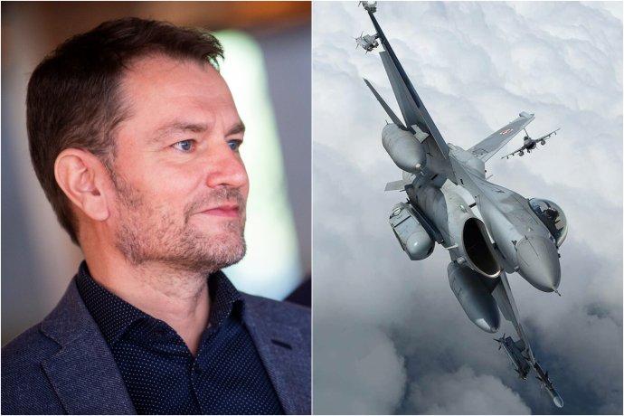 Matovič začal uvažovať, že by Slovensko mohlo vrátiť stíhačky F-16. Foto - Denník N/Pinterest