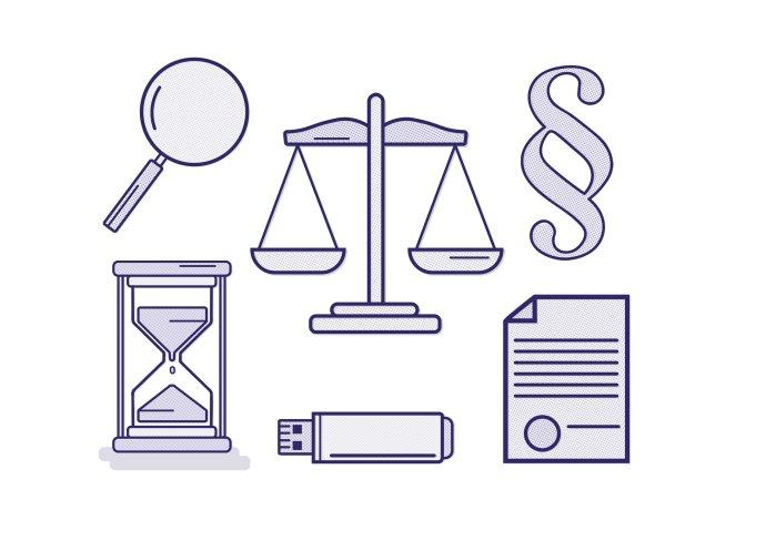 súdy, justícia, spravodlivosť, kriminalita Ilustrácia N - Hedviga Gutierrez
