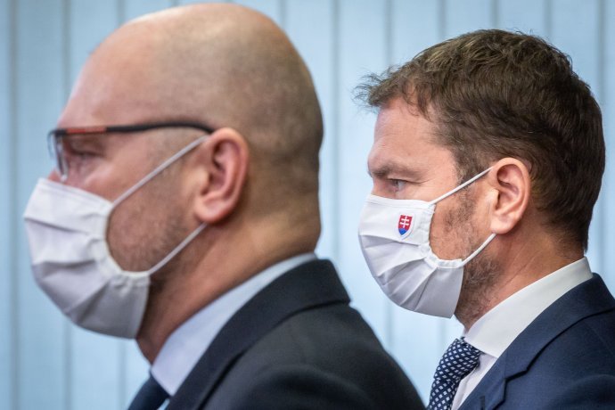 Richard Sulík a Igor Matovič sú v permanentnom konflikte, medzi voličmi rastie predseda SaS. Foto N - Tomáš Benedikovič