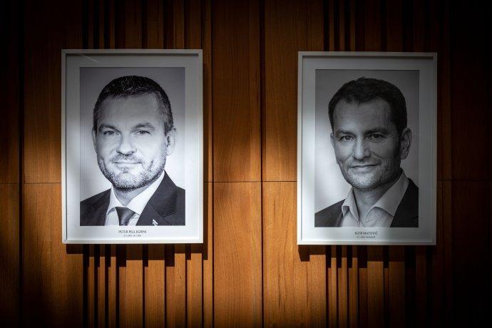 Expremiér a premiér. Foto N - Tomáš Benedikovič