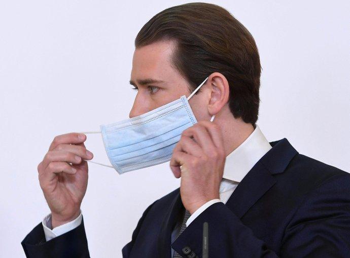 Rakúsky kancelár Sebastian Kurz. Foto - TASR/AP
