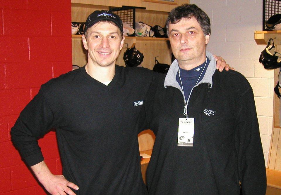 Stanislav Štefánik s Petrom Bondrom v roku 2004. Foto - archív S. Š.