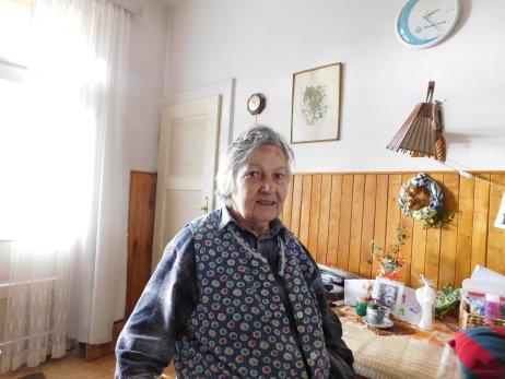 Květoslava Bartoňová v roku 2016. Foto – Post Bellum