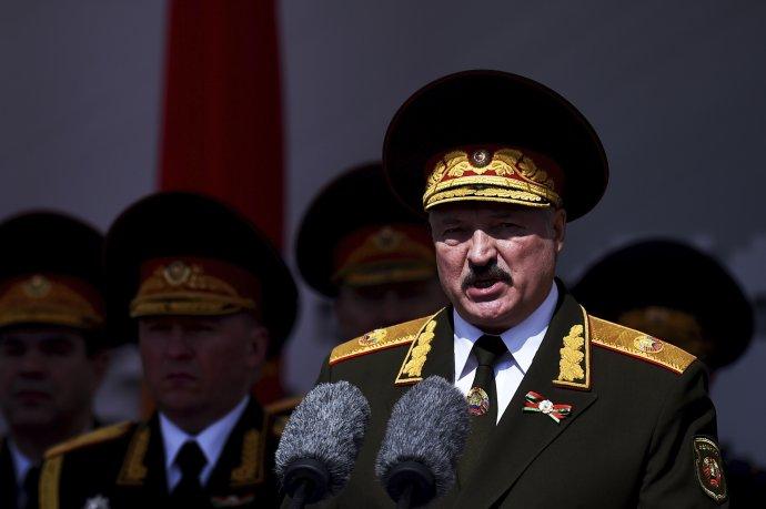 Lukašenko je pri moci od roku 1994. To boli aj posledné slobodné voľby v krajine. Foto - TASR/AP