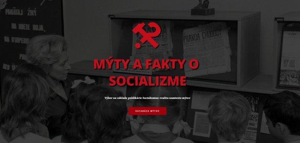 Mýty a fakty o socializme na jednom mieste | Reprofoto - www.buraniemytov.sk
