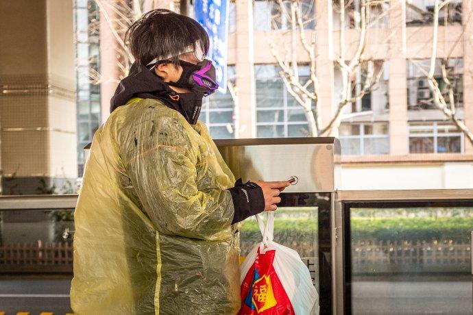 Šanghaj počas pandémie. Foto - Pavel Dvořák