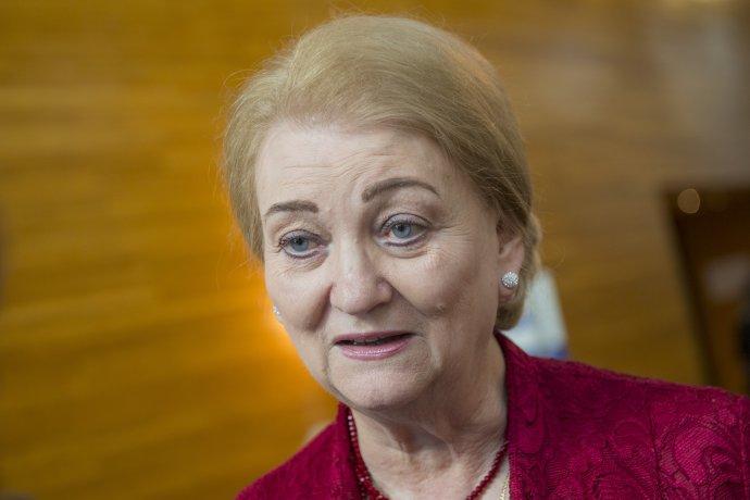 Poslankyňa Anna Záborská (OĽaNO). Foto - TASR