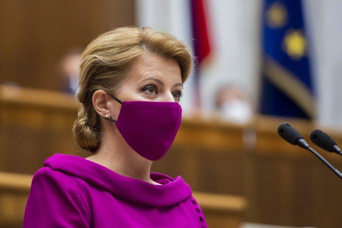 Zuzana Čaputová. Foto - TASR