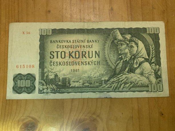 Najznámejšia stokoruna z roku 1961 platila takmer 31 rokov | Foto - Monika Ginterová, ČT 24