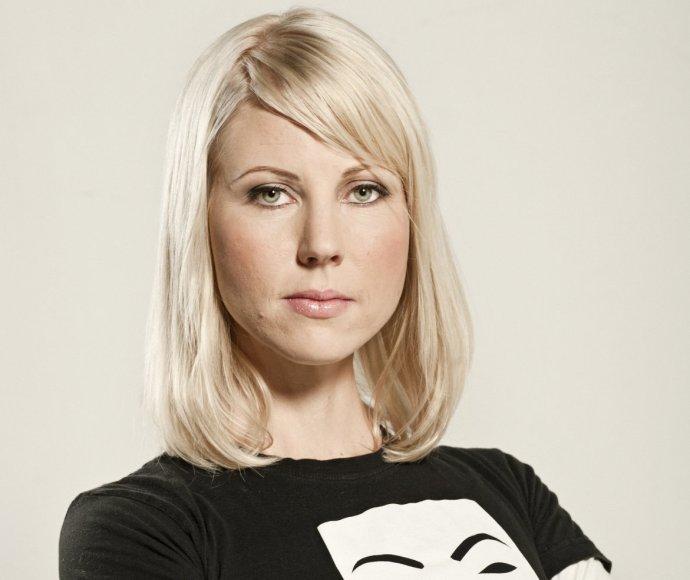 Fínska novinárka Jessikka Arová. Foto – FBC/Laura Pohjavirtaová