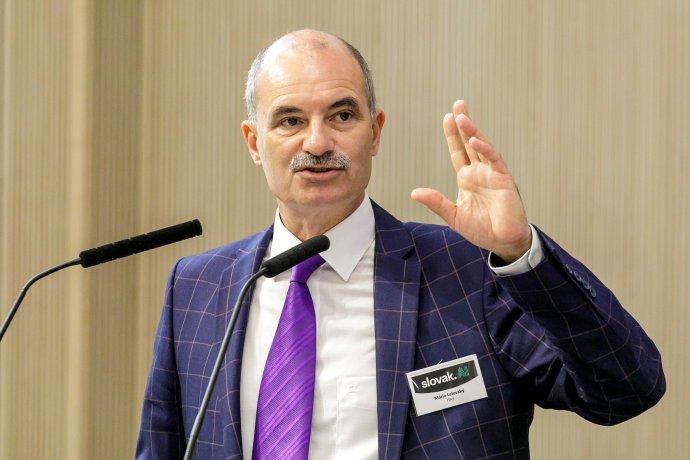 Mário Lelovský je jedným z členov Správnej rady STU, ktorí v máji otvorene vystúpili proti dekanovi Ivanovi Kotuliakovi. Foto - TASR