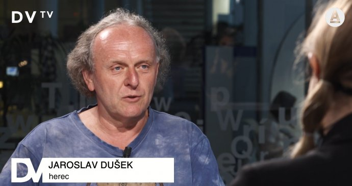 Jaroslav Dušek bol 3. júna v DVTV. Reprofoto - DVTV