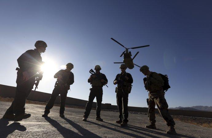 Americkí vojaci v Afganistane, 2017. Foto – TASR/AP