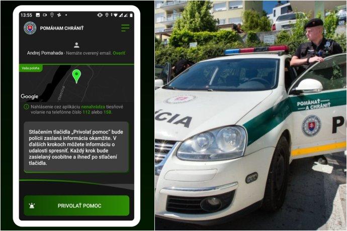 V Trenčianskom kraji je možné upozorniť políciu na nebezpečenstvo cez aplikáciu
