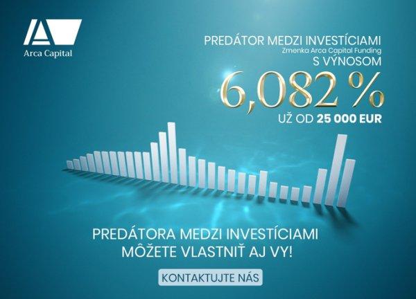 Arca lákala investorov ponúkaným vysokým zhodnotením aj agresívnou reklamou. Repro - Arca Capital