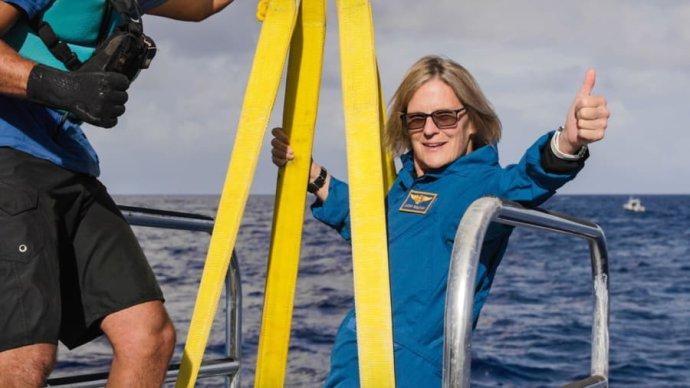 Kathy Sullivanová. Foto - CNN/EYOS