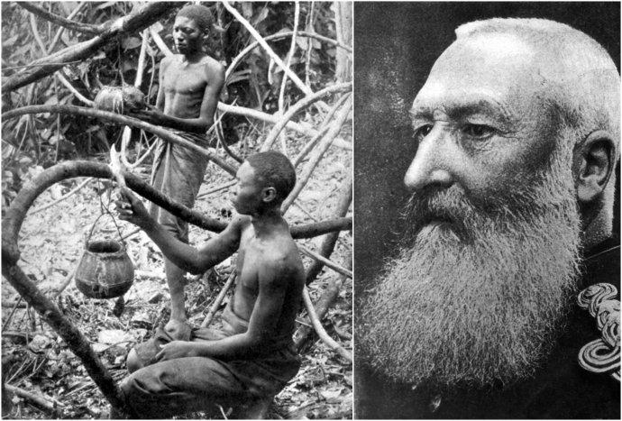 Kráľ Leopold II. bohatol na zbere kaučuku v Kongu, na ktorý využíval miestnych obyvateľov. Foto - Britannica