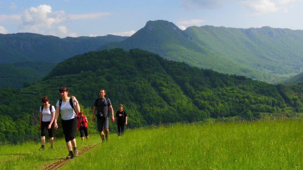 Muránska planina s bralom Cigánka, kde sa nachádza Muránsky hrad. Foto – Tomáš Trstenský