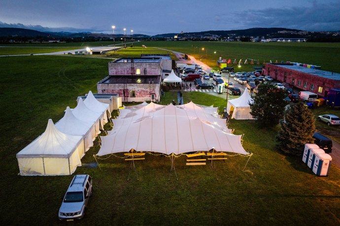 Festivalový areál, verzia 2020. Foto N - Vladimír Šimíček
