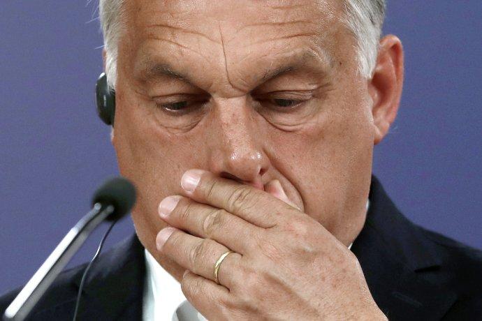 Útok na Index vyvrcholil po historickom samite v Bruseli, kde sa Orbán tváril ako víťaz. EÚ pritom proti nemu vedie sankčnú procedúru pre obavy o právny štát v Maďarsku. Foto - TASR/AP