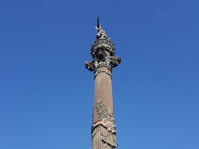 Aktivisti žiadajú odstránenie sochy Krištofa Kolumbusa v Barcelone. Ilustračné foto - Kristina Böhmer