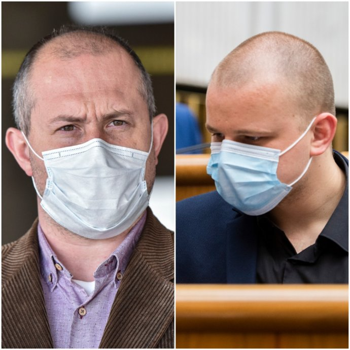 Názory Kotlebu a Mazureka na vplyv rúšok na zdravie vyvracajú lekári, vedci, WHO aj ÚVZ SR. Foto – TASR/N