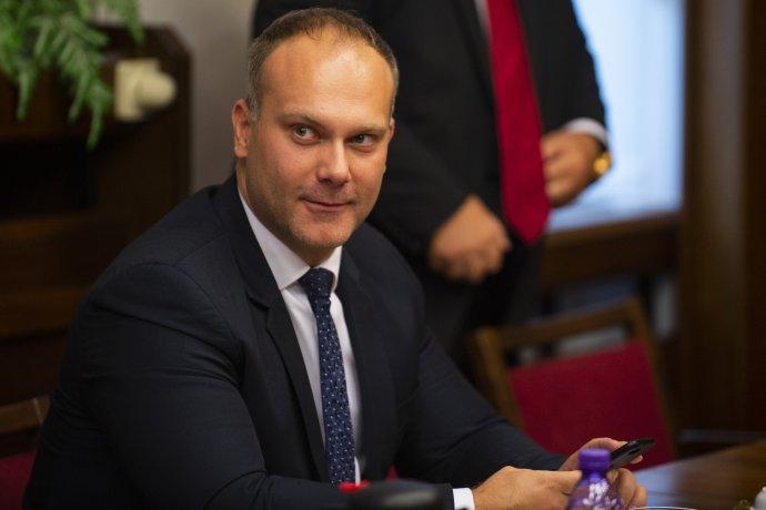 Bývalý poslanec za SNS Radovan Baláž. Foto – TASR