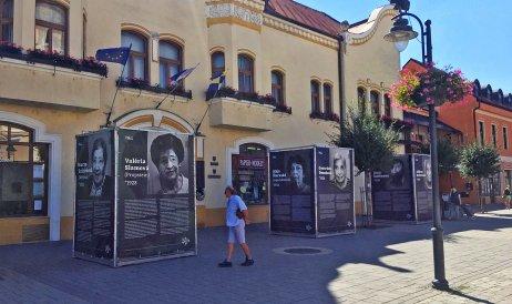 Výstava sa presunula do Topoľčian. Foto – Post Bellum