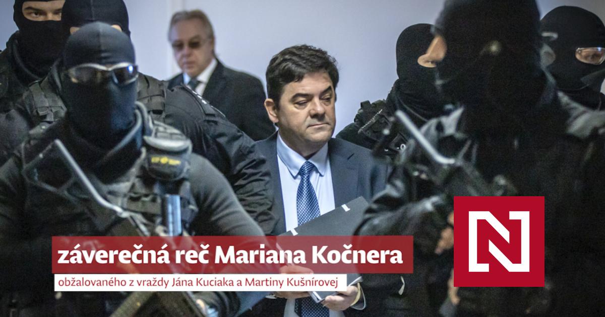 Záverečné reči Kočnera, Zsuzsovej, Szabóa a ich obhajcov: prečo žiadajú oslobodenie (videá) – Denník N
