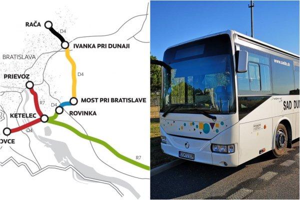 Nová linka bude premávať od 2. septembra jedenásťkrát denne z Dunajskej Stredy do Bratislavy a späť.