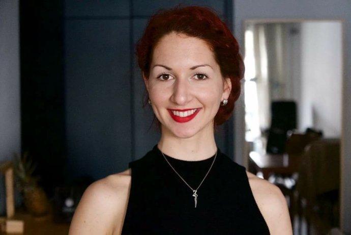 Simona Baloghová žije v Bejrúte. Foto - archív S. B.