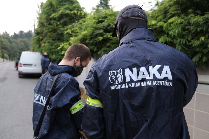 NAKA pri zásahu. Foto - FB Polície SR