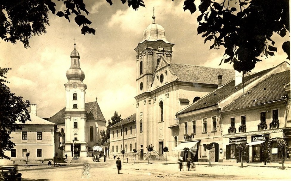 Historická Rožňava. Fotografia so súhlasom administrátorov stránky Klub priateľov starej Rožňavy Mareka Kmeťa a Aleny Golianovej