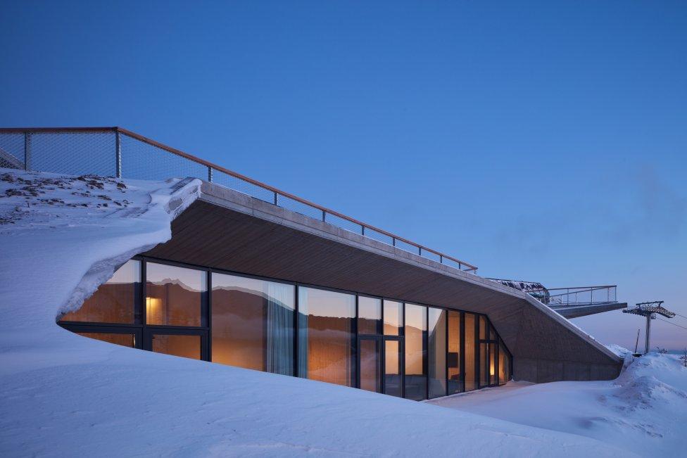 Bachledka - vrcholová vybavenosť od ateliéru Compass Architekti. Foto - BoysPlayNice