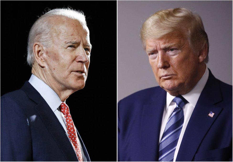 Joe Biden (vľavo) a Donald Trump (vpravo). Foto - TASR/AP