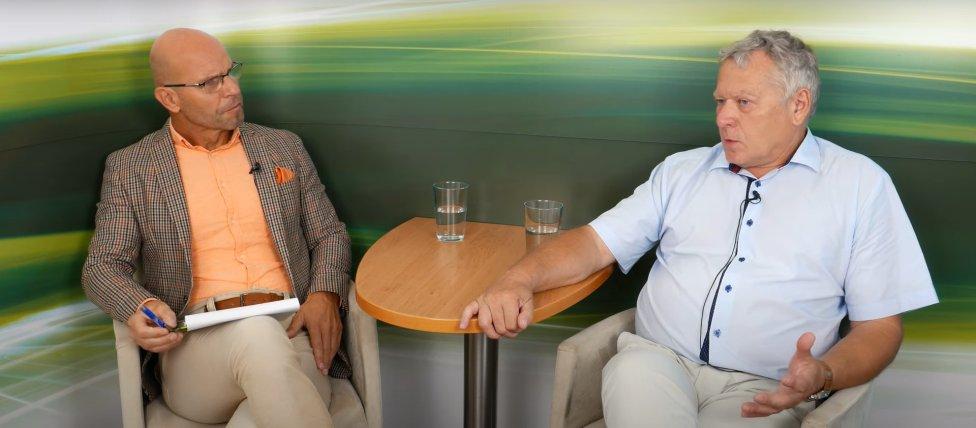 Dietológ Igor Bukovský (vľavo) a onkológ Vladimír Malec. Reprofoto – Dr. Igor Bukovský – AKV/YouTube