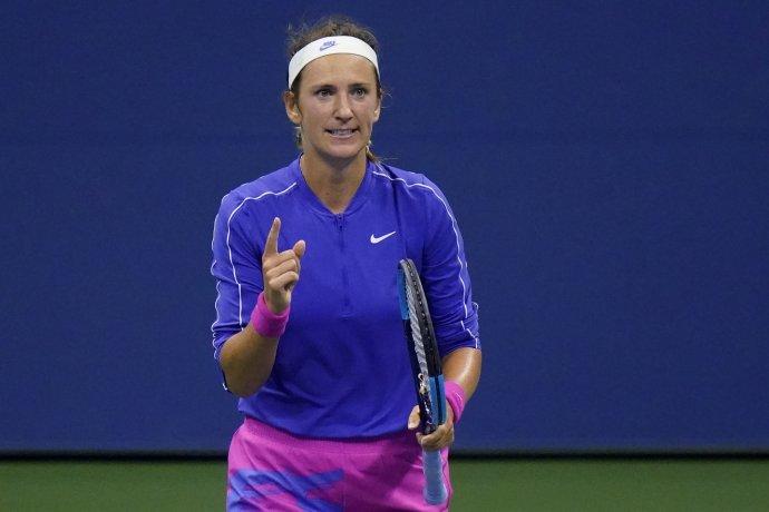 Viktoria Azarenková je po siedmich rokoch v grandslamovom štvrťfinále. tasr/ap