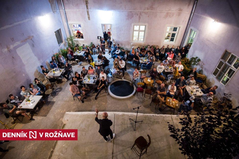 Kultúrno-kreatívne centrum Kláštor v Rožňave. Foto N - Vladimír Šimíček